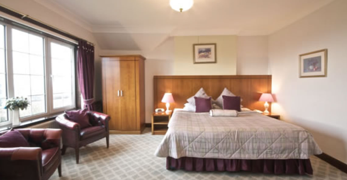 Total Luxury: Our luxurious bedrooms are equipped to the highest standards